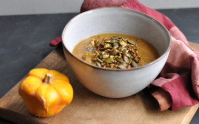 Apple & Pumpkin Soup