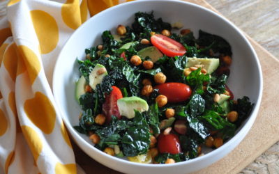 Cavolo Nero Salad with a Mexican Twist