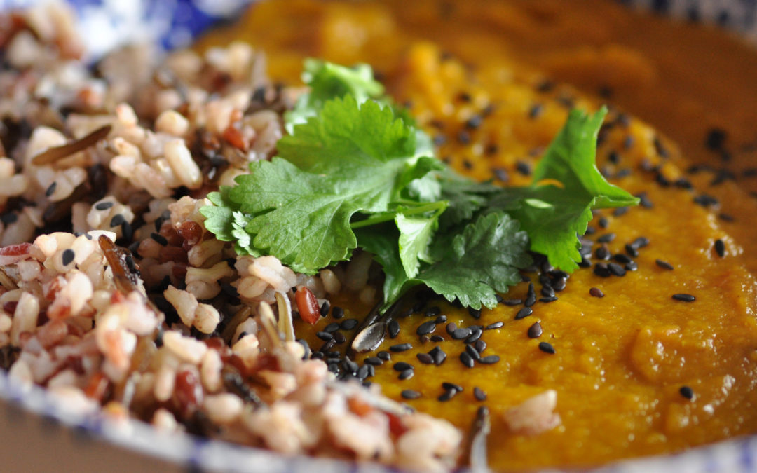 Winter Spiced Lentil Dahl – Winter Soup Series Part 2