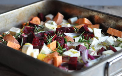 A Medley of Roasted Root Veg