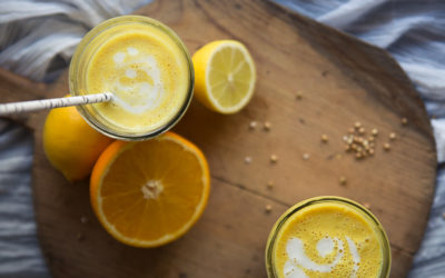 Sunny Buckwheat & Orange Smoothie – by Cashew Kitchen